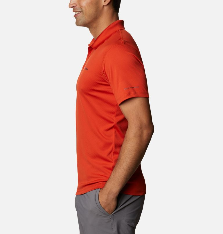Zero Rules™ Polo Shirt | 847 | S Men's Zero Rules™ Polo, Bonfire, a1