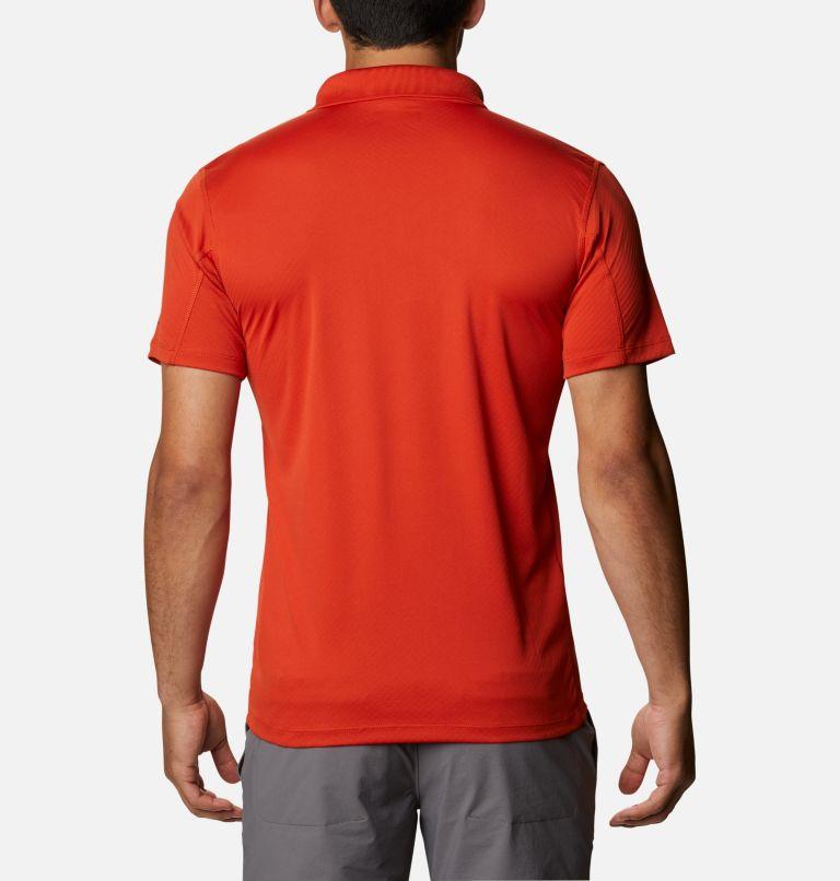 Zero Rules™ Polo Shirt | 847 | XS Men's Zero Rules™ Polo, Bonfire, back