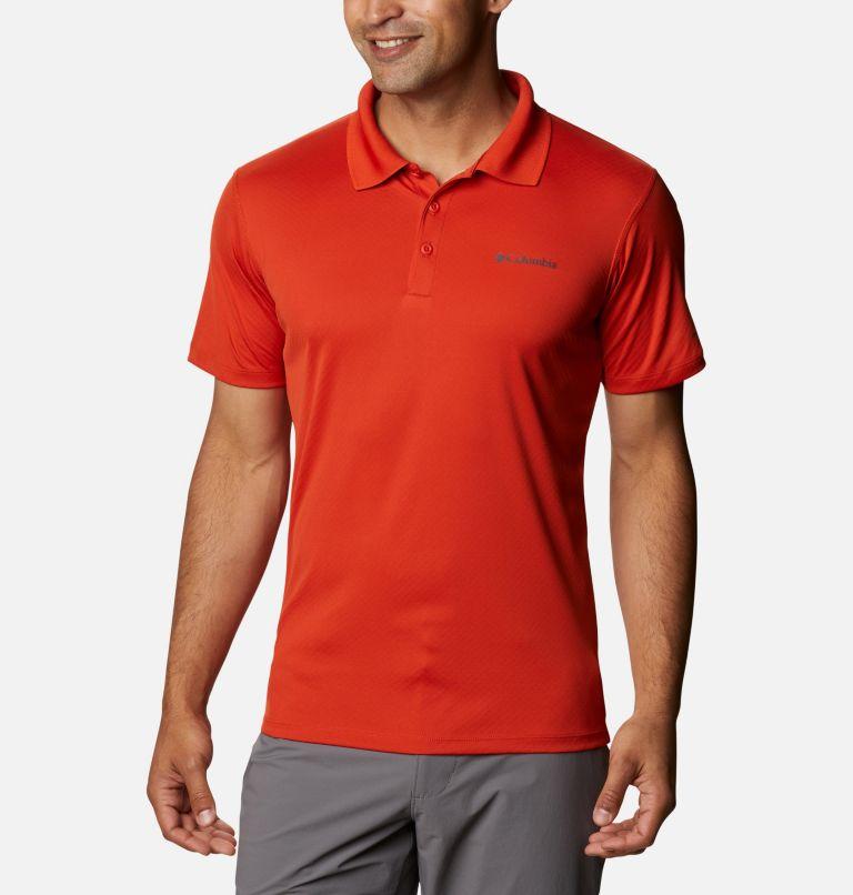Zero Rules™ Polo Shirt | 847 | XS Men's Zero Rules™ Polo, Bonfire, front