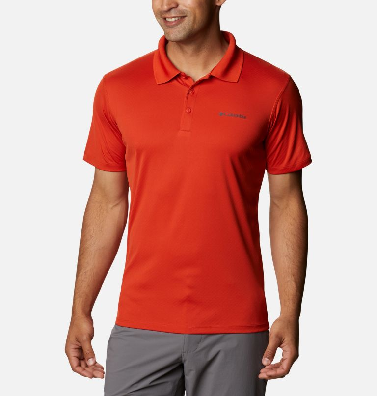 Zero Rules™ Polo Shirt | 847 | S Men's Zero Rules™ Polo, Bonfire, front