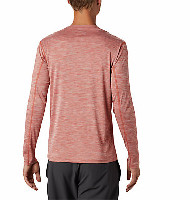 Men's ZERO Rules™ Long Sleeve Shirt Zero Rules™ Long Sleeve Shirt | 039 | L, Carnelian Red Heather, back