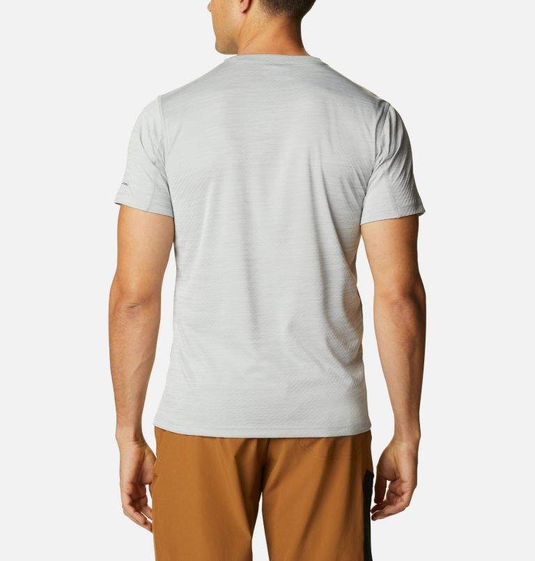Zero Rules™ Short Sleeve Shirt | 039 | XL Men's Zero Rules™ T-Shirt, Columbia Grey Heather, back