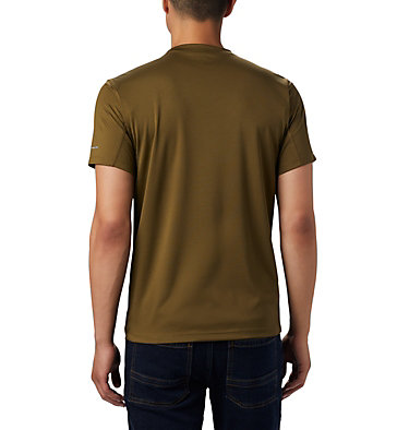T-shirt Zero Rules™ Short Sleeve da uomo Zero Rules™ Short Sleeve Shirt | 469 | L, New Olive, back
