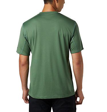 Zero Rules™ Kurzarm-Shirt für Herren Zero Rules™ Short Sleeve Shirt | 039 | L, Thyme Green, back