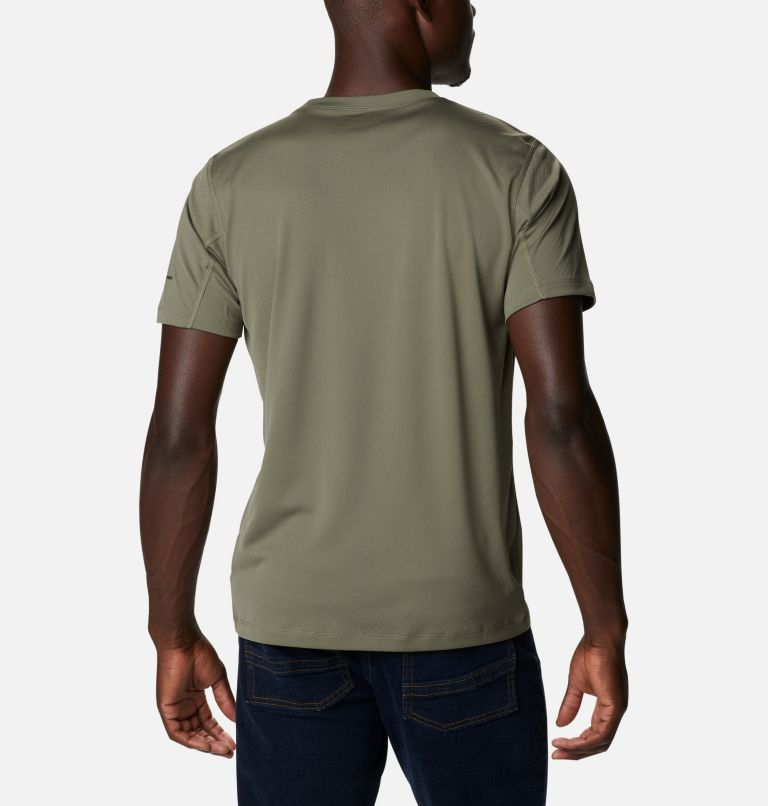 Zero Rules™ Short Sleeve Shirt   397   XXL Men's Zero Rules™ Short Sleeve Shirt, Stone Green, back