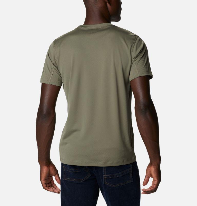 Zero Rules™ Short Sleeve Shirt | 397 | XL Men's Zero Rules™ Short Sleeve Shirt, Stone Green, back