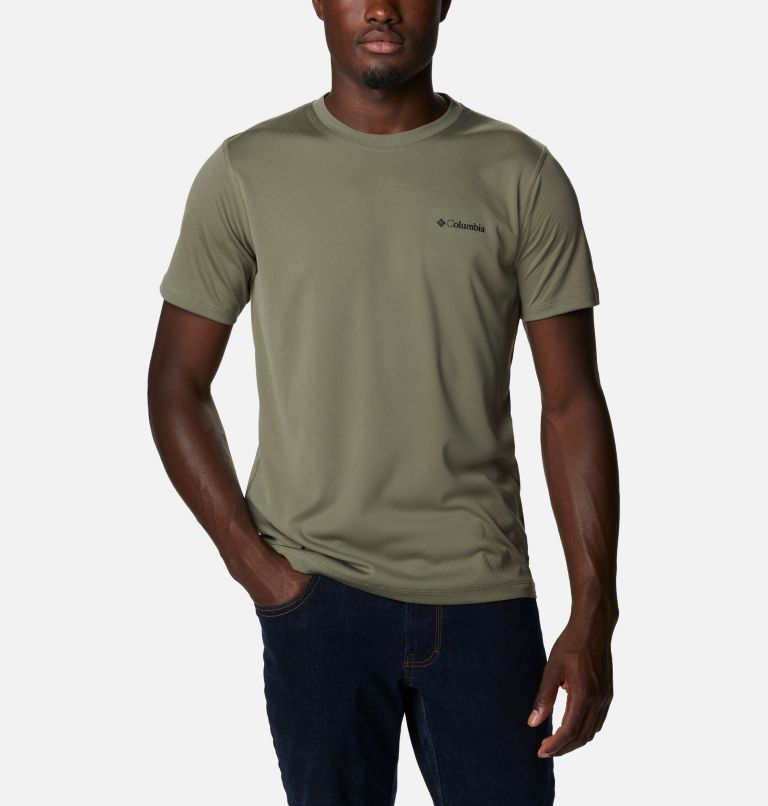 Zero Rules™ Short Sleeve Shirt | 397 | M Men's Zero Rules™ T-Shirt, Stone Green, front
