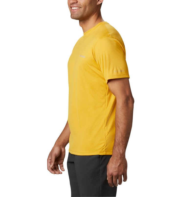Zero Rules™ Short Sleeve Shirt   790   S Men's Zero Rules™ Short Sleeve Shirt, Bright Gold, a1