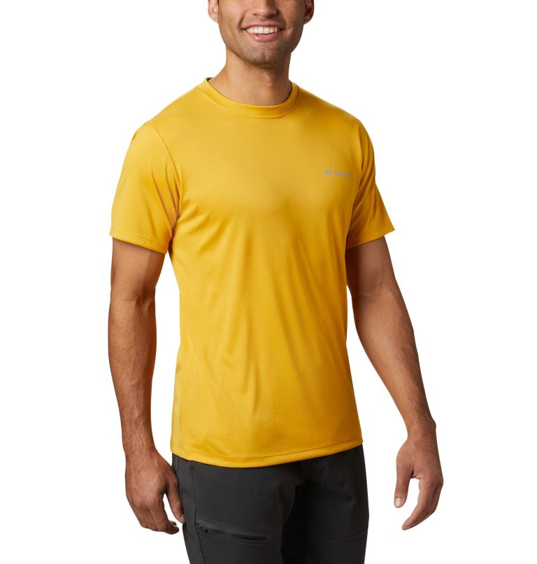 Zero Rules™ Short Sleeve Shirt   790   S Men's Zero Rules™ Short Sleeve Shirt, Bright Gold, a3