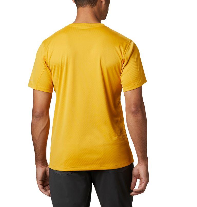 Zero Rules™ Short Sleeve Shirt   790   S Men's Zero Rules™ Short Sleeve Shirt, Bright Gold, back