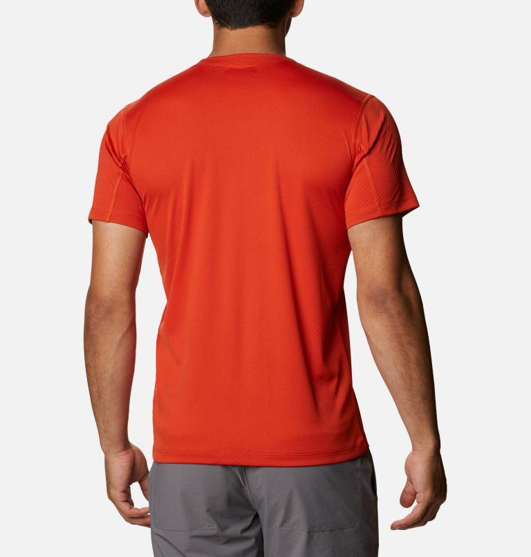 Zero Rules™ Short Sleeve Shirt | 847 | XXL Men's Zero Rules™ Short Sleeve Shirt - Active Fit, Bonfire, back