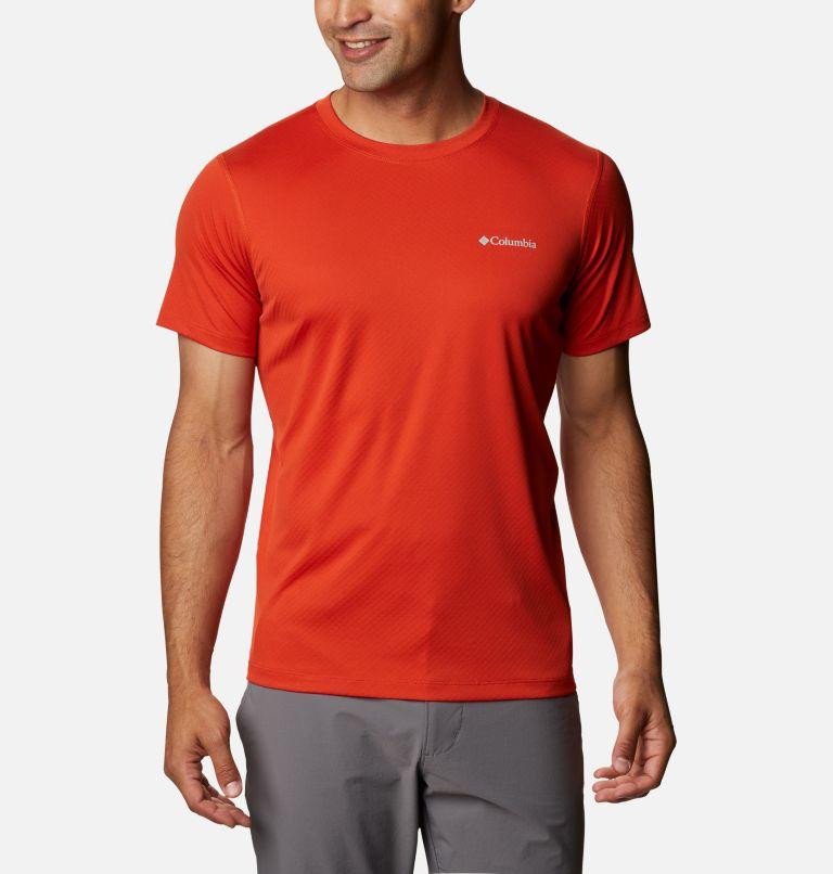 Zero Rules™ Short Sleeve Shirt | 847 | XXL Men's Zero Rules™ Short Sleeve Shirt - Active Fit, Bonfire, front