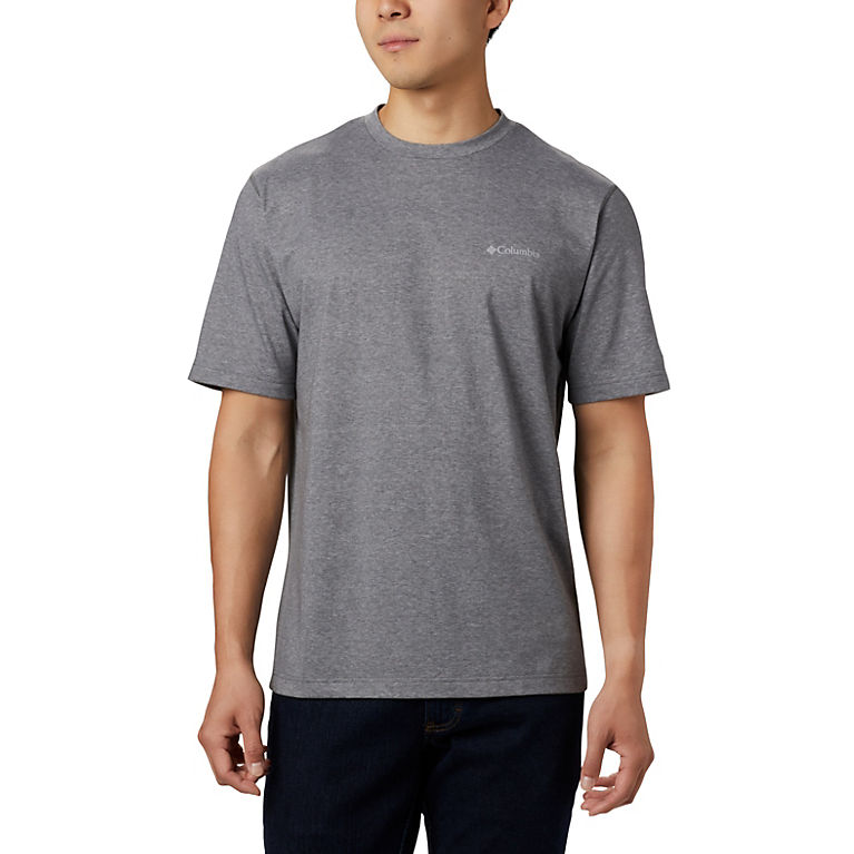 City Grey Heather Men's Thistletown Park™ Crew, View 0