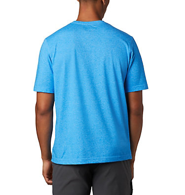 Men's Thistletown Park™ Crew Thistletown Park™ Crew | 614 | L, Azure Blue Heather, back