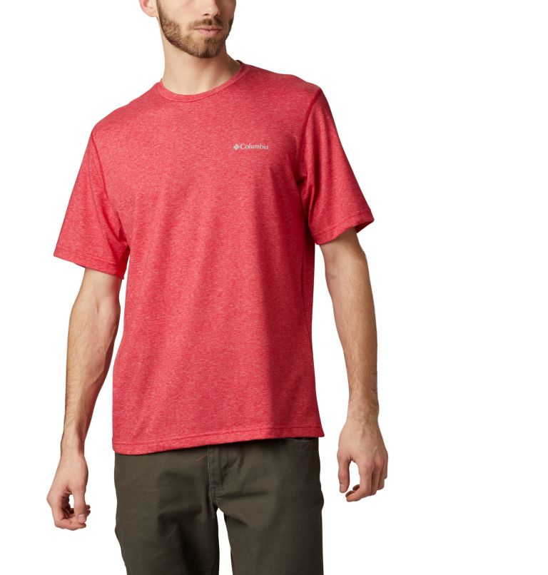 Thistletown Park™ Crew | 614 | L Men's Thistletown Park™ Crew, Mountain Red Heather, front