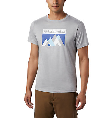 Men's PFG Zero Rules™ T-Shirt Zero Rules™ Short Sleeve Graph | 040 | XXL, Columbia Grey Heather Peak Fun, front