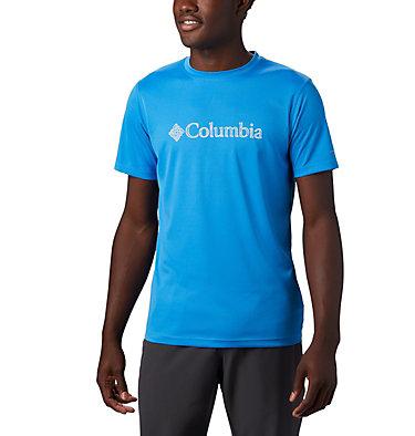Men's PFG Zero Rules™ T-Shirt Zero Rules™ Short Sleeve Graph | 040 | XXL, Azure Blue CSC Topo Lines, front