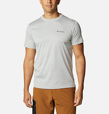 Men's Zero Rules™ Short Sleeve Shirt Zero Rules™ Short Sleeve Shirt | 437 | L, Columbia Grey Heather, front