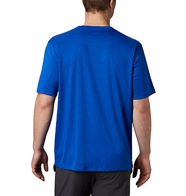 Men's Zero Rules™ Short Sleeve Shirt Zero Rules™ Short Sleeve Shirt | 437 | L, Azul, back
