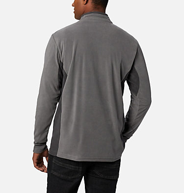 Men's Klamath Range™ II Half Zip Fleece Pullover Klamath Range™ II Half Zip | 449 | S, City Grey, Shark, back