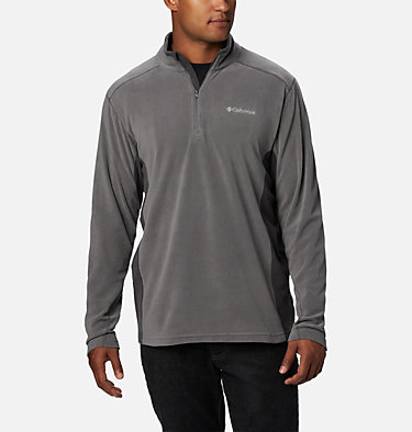 Men's Klamath Range™ II Half Zip Fleece Pullover Klamath Range™ II Half Zip | 449 | S, City Grey, Shark, front