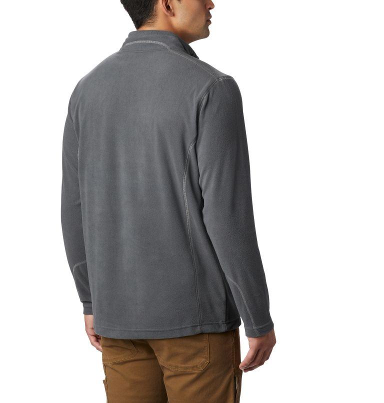 Klamath Range™ II Half Zip   028   S Men's Klamath Range™ II Half Zip Fleece Pullover, Grill, back