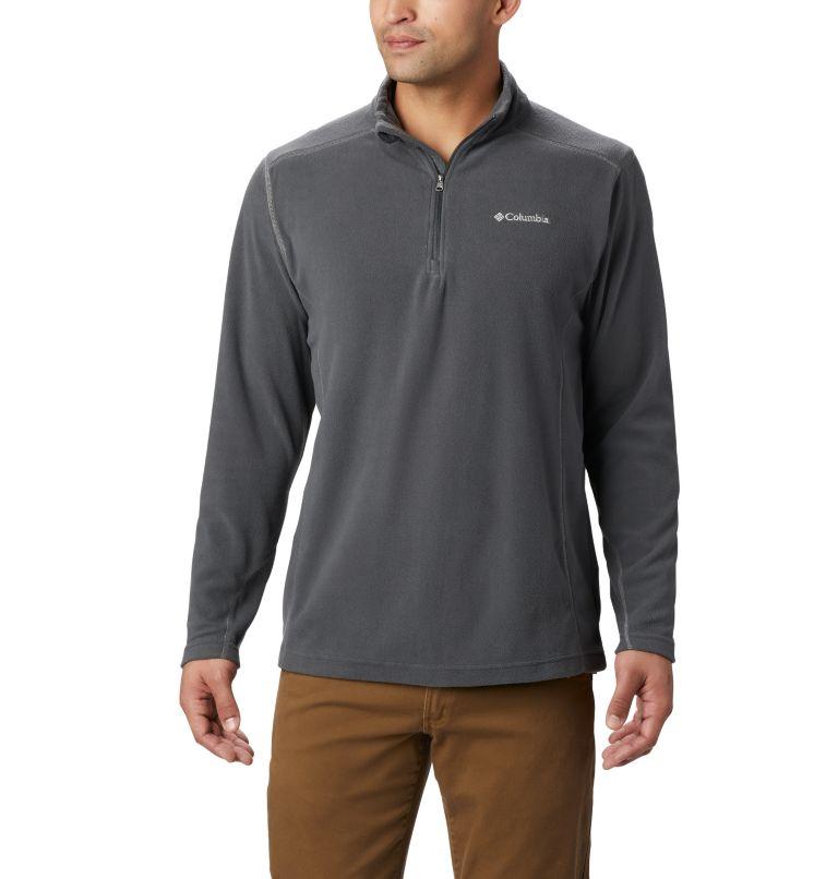Klamath Range™ II Half Zip   028   S Men's Klamath Range™ II Half Zip Fleece Pullover, Grill, front