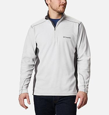 Men's Klamath Range™ II Half Zip Fleece Pullover Klamath Range™ II Half Zip | 449 | S, Nimbus Grey, Shark, front