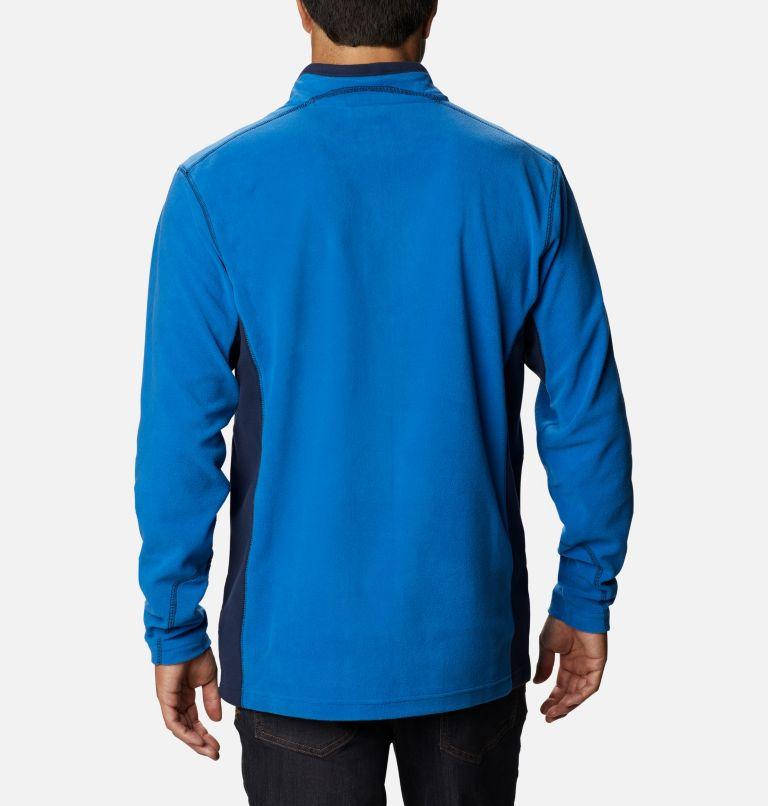 Klamath Range™ II Half Zip | 435 | S Men's Klamath Range™ II Half Zip Fleece Pullover, Bright Indigo, Collegiate Navy, back