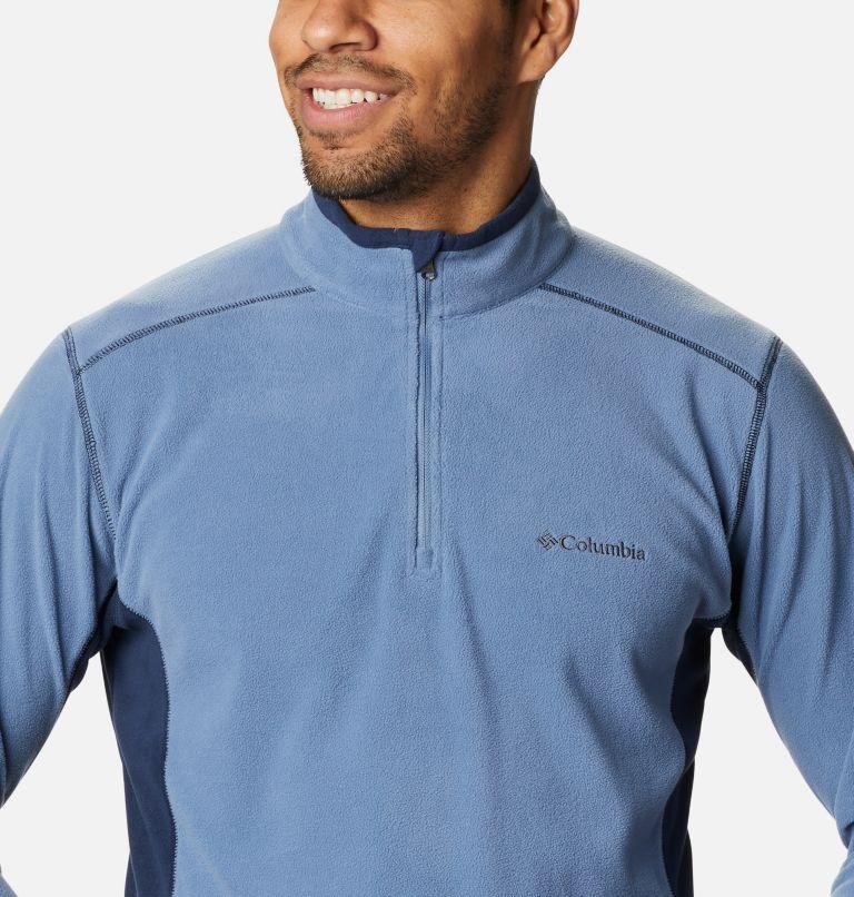 Klamath Range™ II Half Zip | 449 | XL Men's Klamath Range™ II Half Zip Fleece Pullover, Bluestone, Collegiate Navy, a2