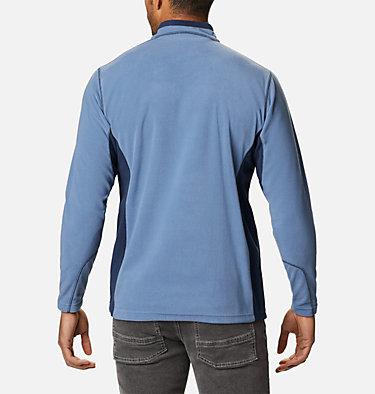 Men's Klamath Range™ II Half Zip Fleece Pullover Klamath Range™ II Half Zip | 449 | S, Bluestone, Collegiate Navy, back