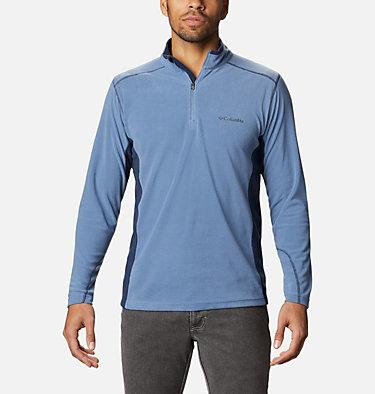 Men's Klamath Range™ II Half Zip Fleece Pullover Klamath Range™ II Half Zip | 449 | S, Bluestone, Collegiate Navy, front