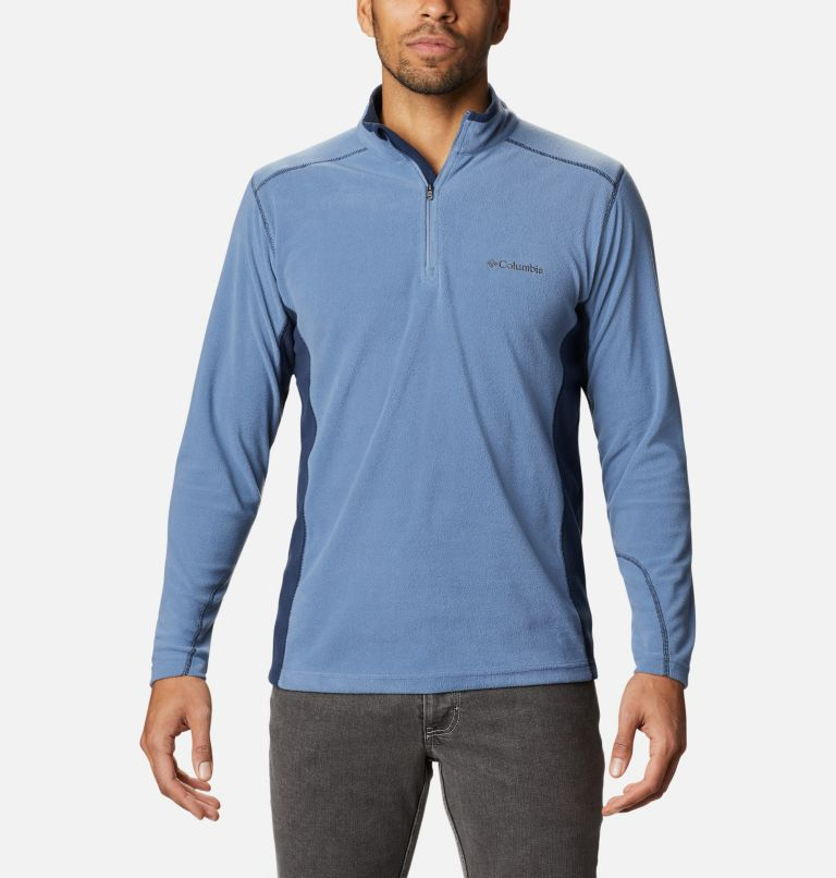 Klamath Range™ II Half Zip | 449 | XL Men's Klamath Range™ II Half Zip Fleece Pullover, Bluestone, Collegiate Navy, front