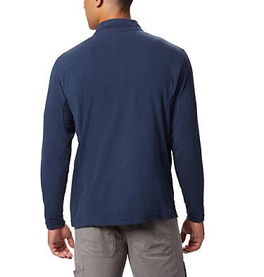 Men's Klamath Range™ II Half Zip Fleece Pullover Klamath Range™ II Half Zip | 449 | S, Collegiate Navy Solid, back