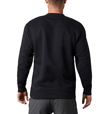 Men's Hart Mountain™ II Crew Fleece Sweatshirt Hart Mountain™ II Crew | 242 | S, Black, back