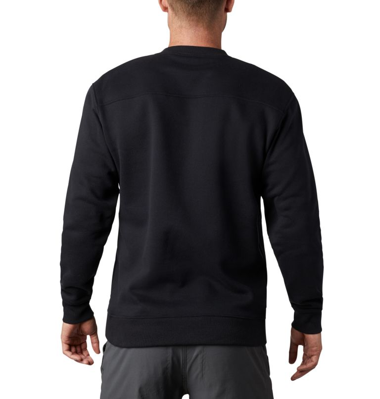 Men's Hart Mountain™ II Crew Fleece Sweatshirt Men's Hart Mountain™ II Crew Fleece Sweatshirt, back
