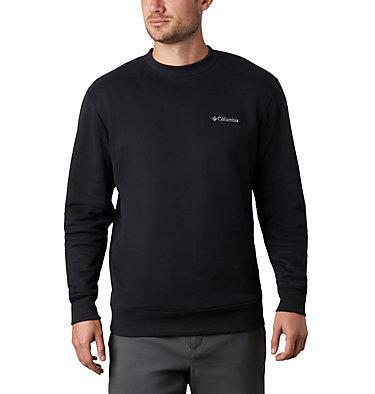 Men's Hart Mountain™ II Crew Fleece Sweatshirt Hart Mountain™ II Crew | 397 | L, Black, front