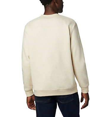 Men's Hart Mountain™ II Crew Fleece Sweatshirt Hart Mountain™ II Crew | 242 | S, Oatmeal Heather, back