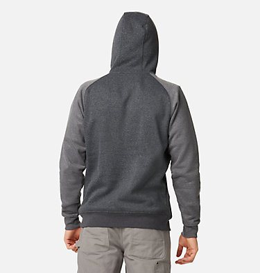 Men's Hart Mountain™ II Fleece Hoodie Hart Mountain™ II Hoodie | 012 | XL, Black Heather, Shark Heather, back