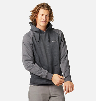 Men's Hart Mountain™ II Fleece Hoodie Hart Mountain™ II Hoodie | 012 | XL, Black Heather, Shark Heather, front