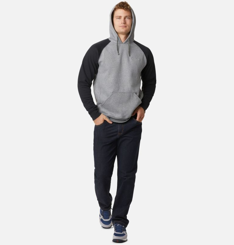 Hart Mountain™ II Hoodie | 035 | L Men's Hart Mountain™ II Fleece Hoodie, Charcoal Heather, Black, a1
