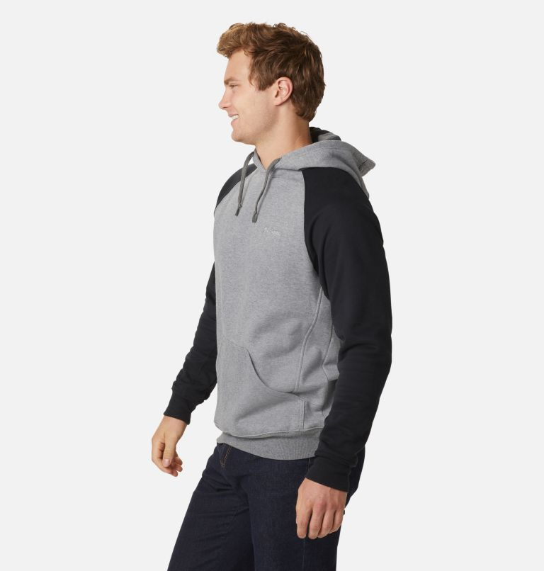 Hart Mountain™ II Hoodie | 035 | L Men's Hart Mountain™ II Fleece Hoodie, Charcoal Heather, Black, a3
