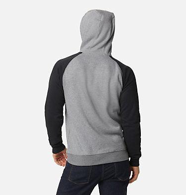 Men's Hart Mountain™ II Fleece Hoodie Hart Mountain™ II Hoodie | 012 | XL, Charcoal Heather, Black, back