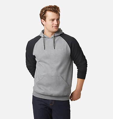 Men's Hart Mountain™ II Fleece Hoodie Hart Mountain™ II Hoodie | 012 | XL, Charcoal Heather, Black, front