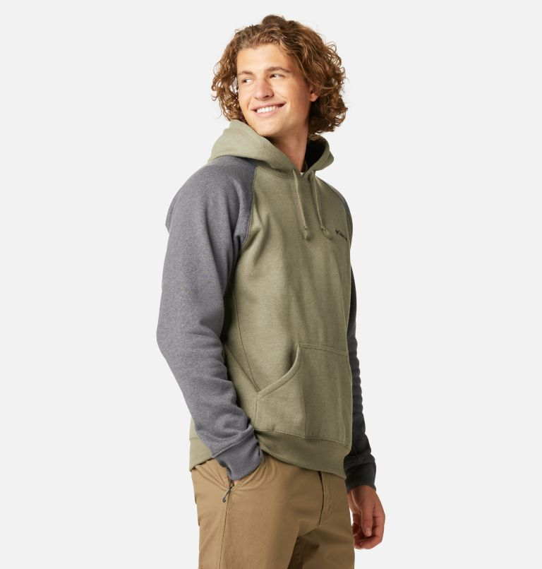 Hart Mountain™ II Hoodie | 397 | S Men's Hart Mountain™ II Fleece Hoodie, Stone Green Heather, Shark Heather, a1