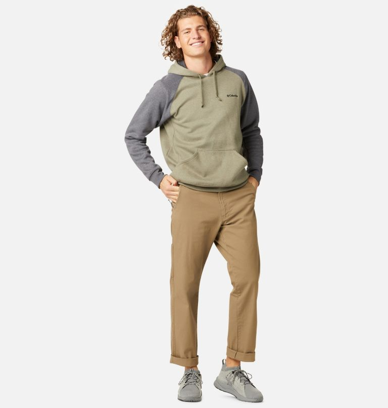 Hart Mountain™ II Hoodie | 397 | S Men's Hart Mountain™ II Fleece Hoodie, Stone Green Heather, Shark Heather, a3