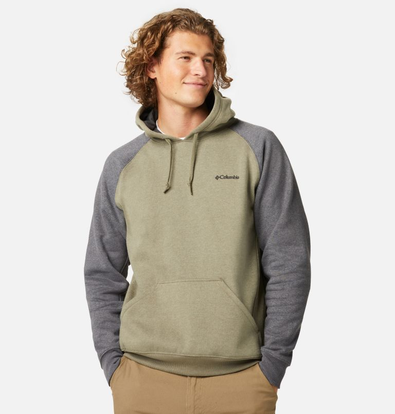 Hart Mountain™ II Hoodie | 397 | S Men's Hart Mountain™ II Fleece Hoodie, Stone Green Heather, Shark Heather, front