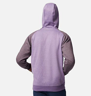 Men's Hart Mountain™ II Fleece Hoodie Hart Mountain™ II Hoodie | 012 | XL, Soft Purple, Dark Purple Heather, back