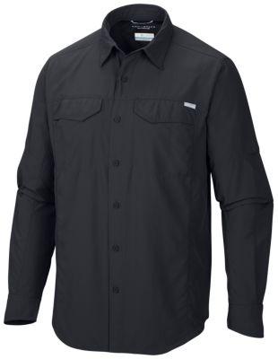 Columbia Mens Standard Silver Ridge Long Sleeve Shirt Safari Large