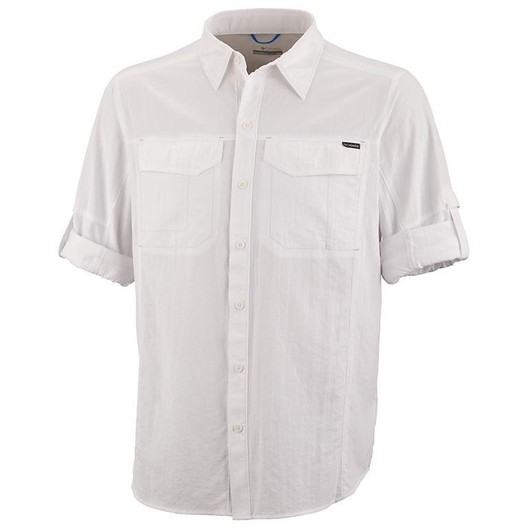 Columbia Mens Silver Ridge Blocked Long Sleeve Shirt